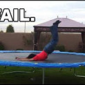 The most epic trampoline fail!…