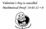 Valentine's Day Has Been Cancelled