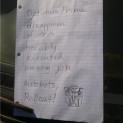 Transformers have okay handwriting.